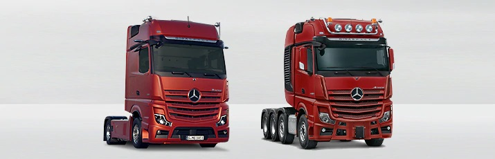 Mercedes-Benz camions pour transport long-courrier