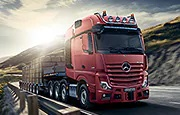 L'Actros SLT Mercedes-Benz pour transport long-courrier